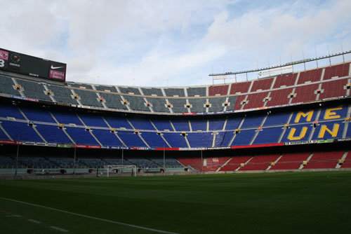 Camp Nou Experience : the Camp Nou - Gol Nord