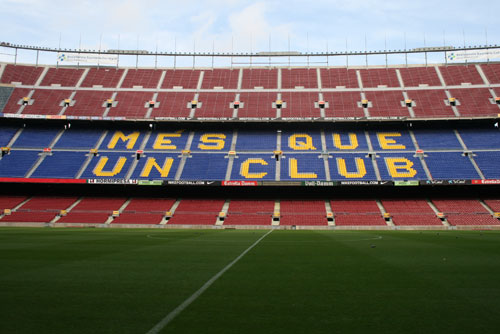 Camp Nou Experience : the camp nou - mes que un club