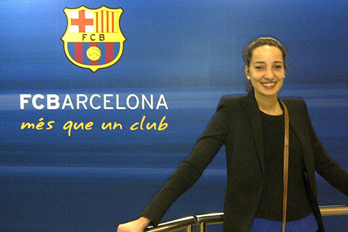 Camp Nou Experience : happy customer in the mixed zone