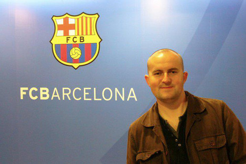 Camp Nou Experience : another happy client in the mixed zone