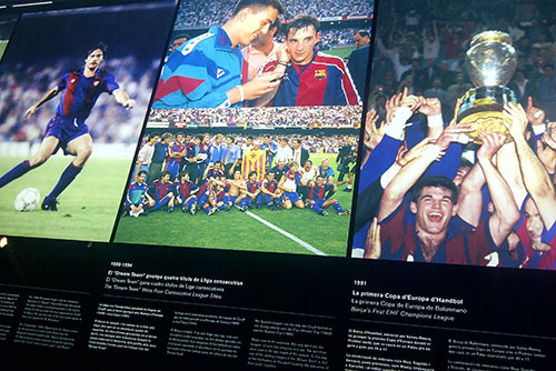 Camp Nou Experience : articles and pictures