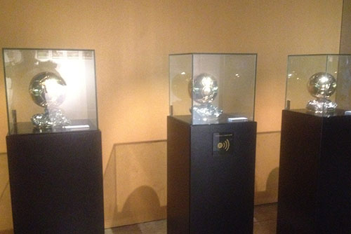 Camp Nou Experience : Ballon d'or at the museum