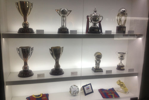 Camp Nou Experience : Trophy gallery