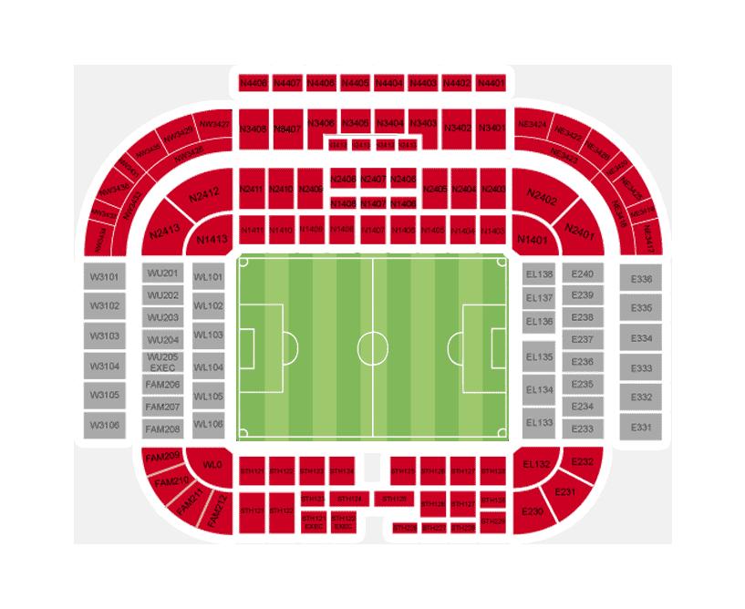Manchester United Vs Fc Barcelona Tickets Champions League
