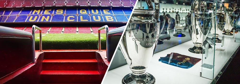 Camp Nou Experience : Camp Nou stadium and FC Barcelona museum tour