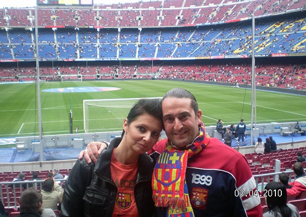 FC Barcelona fan at picture
